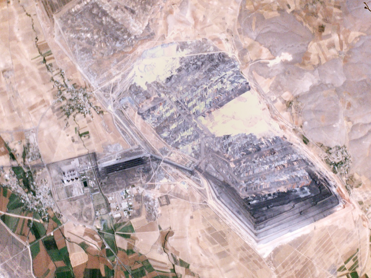 Mine in Turkey