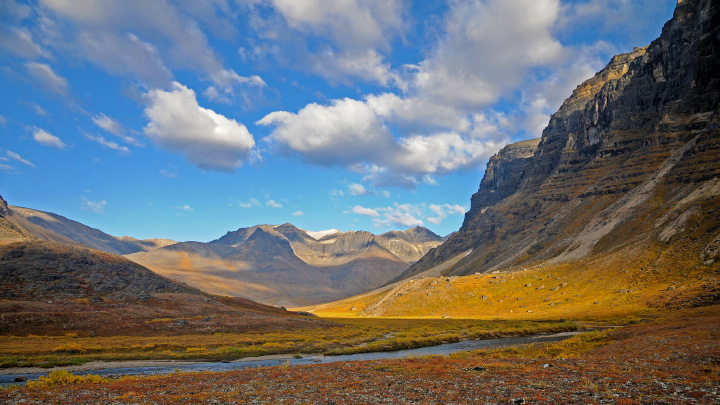 Gates of the Arctic National Park landscape.