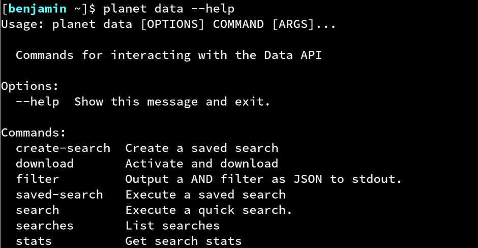 command line—ben