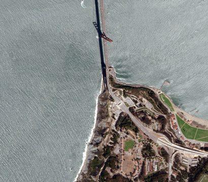 PlanetScope snapshot of the Golden Gate Bridge