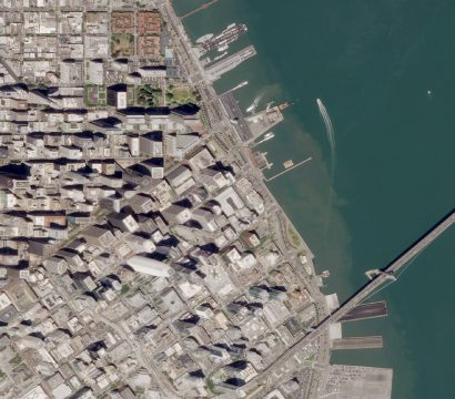SkySat image of Downtown San Francisco, California