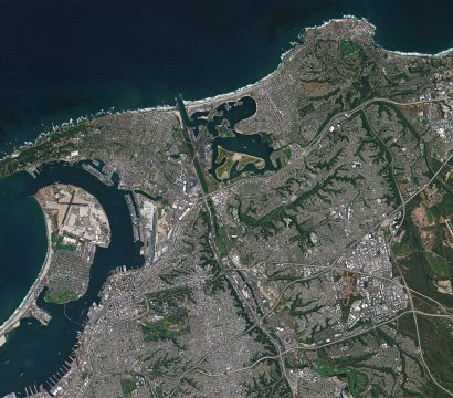 San Diego, CA, and surrounding areas © 2019, Planet Labs Inc. All Rights Reserved.