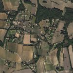 Scattered fields, stands of trees and chateaux characterize the landscape of Aix-en-Provence, southern France. (c) 2016, Planet Labs Inc. All Rights Reserved.