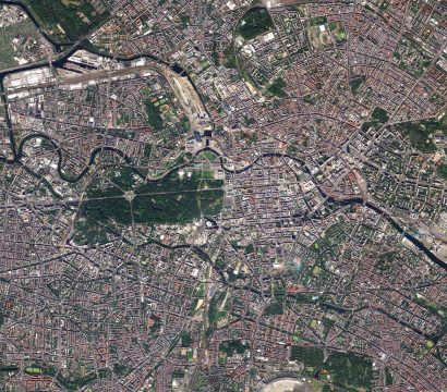 Berlin, Germany, (c) 2019, Planet Labs Inc. All Rights Reserved.