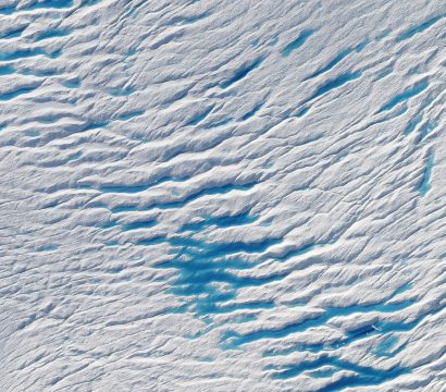 Greenland's Petermann Glacier in June of 2019, (c) 2019, Planet Labs Inc. All Rights Reserved.