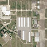 "A view of Ellington Field Joint Reserve Base where NASA launches its famous ""Vomit Comet."" © 2020, Planet Labs Inc. All Rights Reserved."