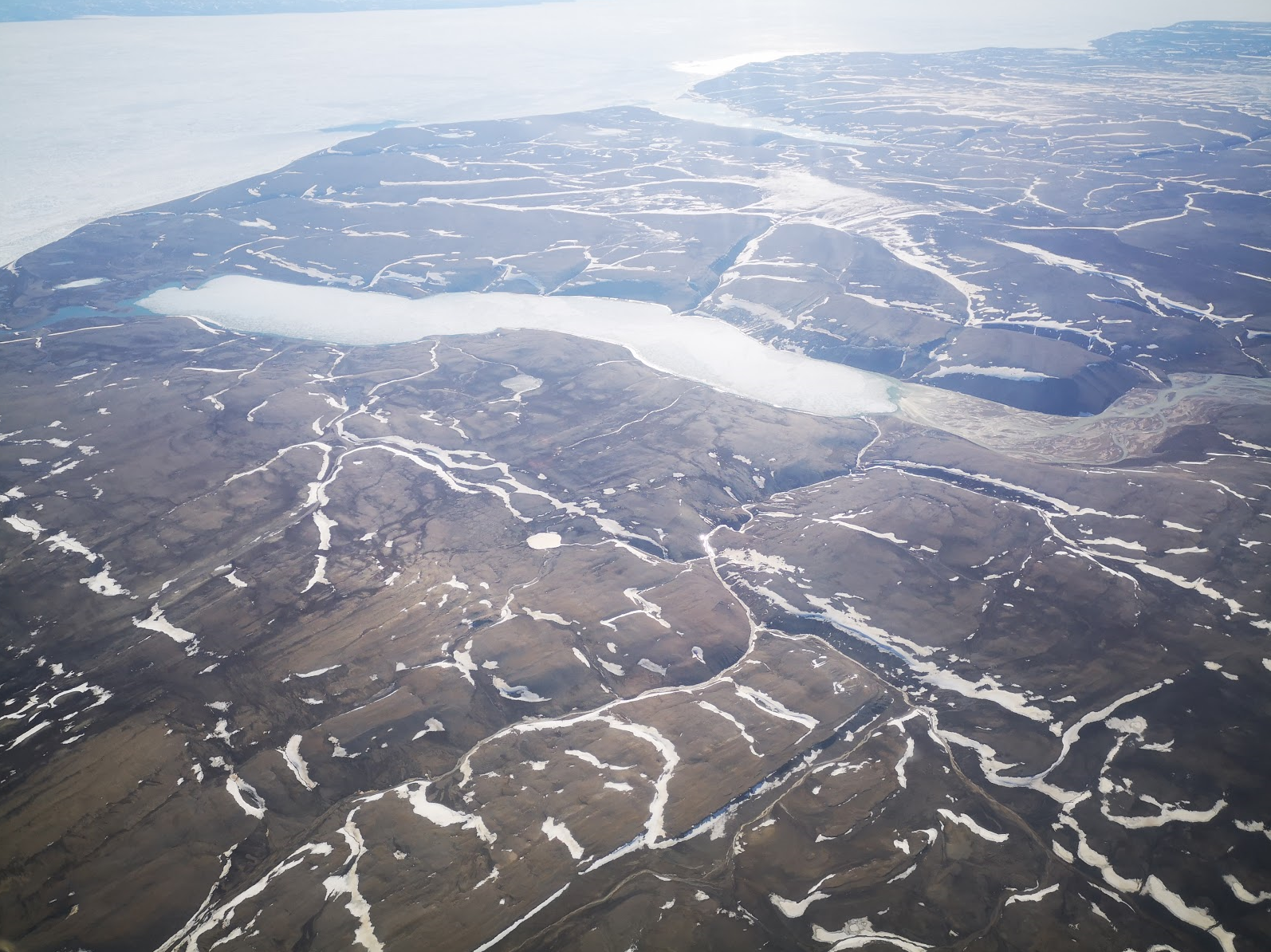 Networks of subglacially-carved channels on Axel Heiberg Island. Image credit: Anna Grau Galofre.
