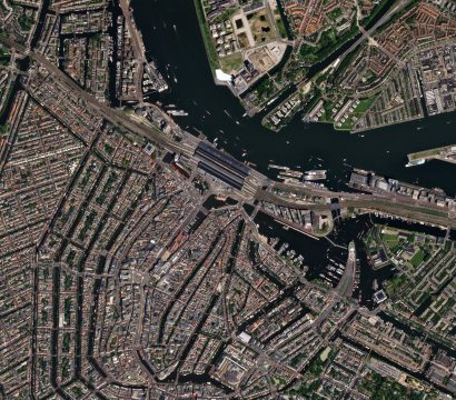 Amsterdam, the capital of the Netherlands © 2017, Planet Labs Inc. All Rights Reserved.