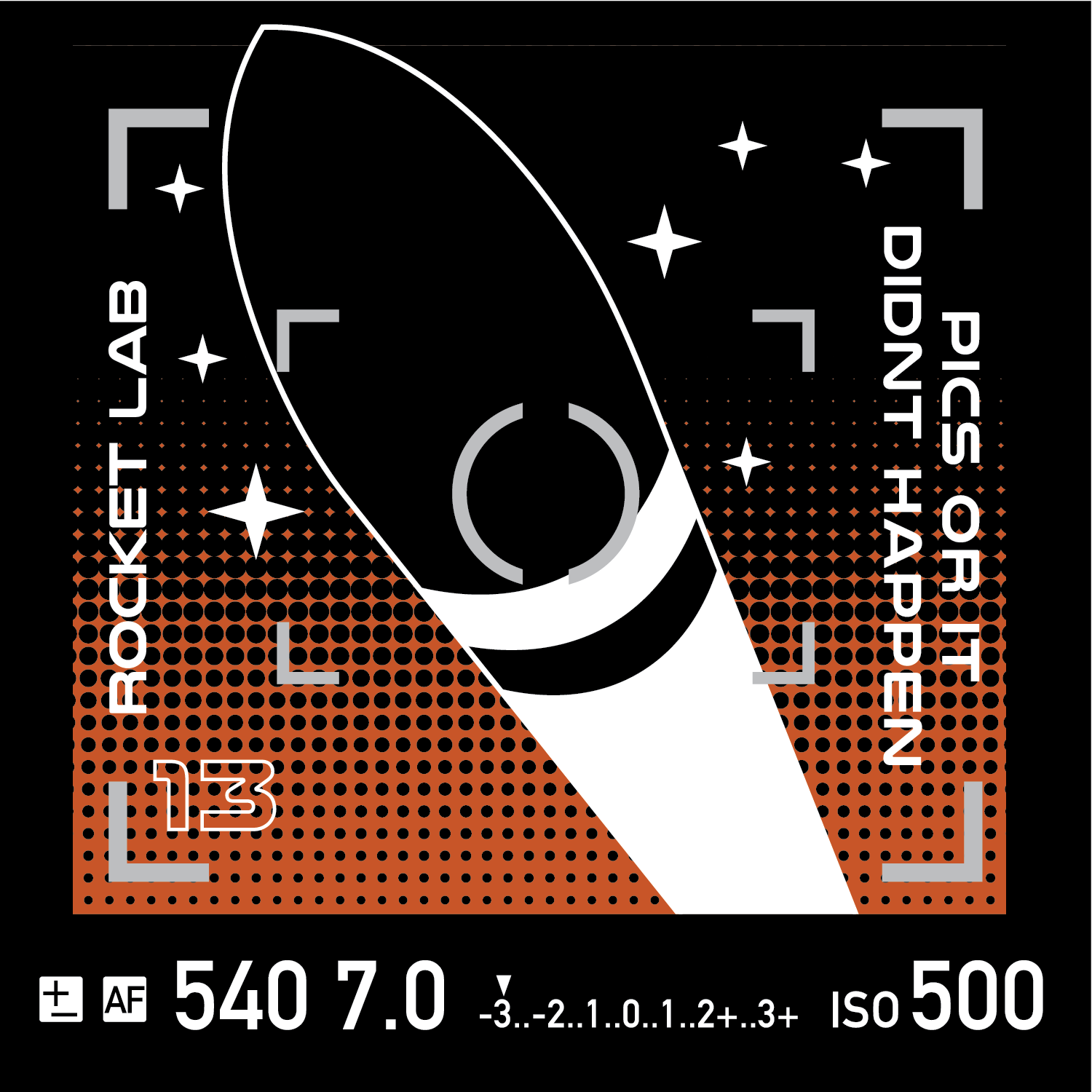 "Rocket Lab's mission patch for the ""Pics or It Didn't Happen"" launch. Image credit: Rocket Lab"