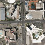 Fine details of Las Vegas's extravagant hotels, casinos and attractions are visible in Planet's 50 centimeter data. SkySat image collected on April 28, 2020 from an altitude of 456 kilometers. © 2020, Planet Labs Inc. All Rights Reserved.