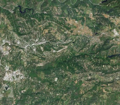 Placerville, El Dorado County, California, USA. May 8, 2020. © 2020, Planet Labs Inc. All Rights Reserved.
