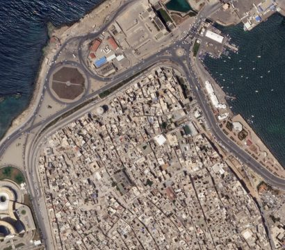 The Old City of Tripoli, Libya imaged at 50 centimeters per pixel from an altitude of 456 kilometers. © 2020, Planet Labs Inc. All Rights Reserved.