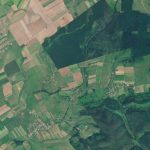 PlanetScope image of Mașloc, Romania where this archeology site was located © 2020, Planet Labs Inc. All Rights Reserved.