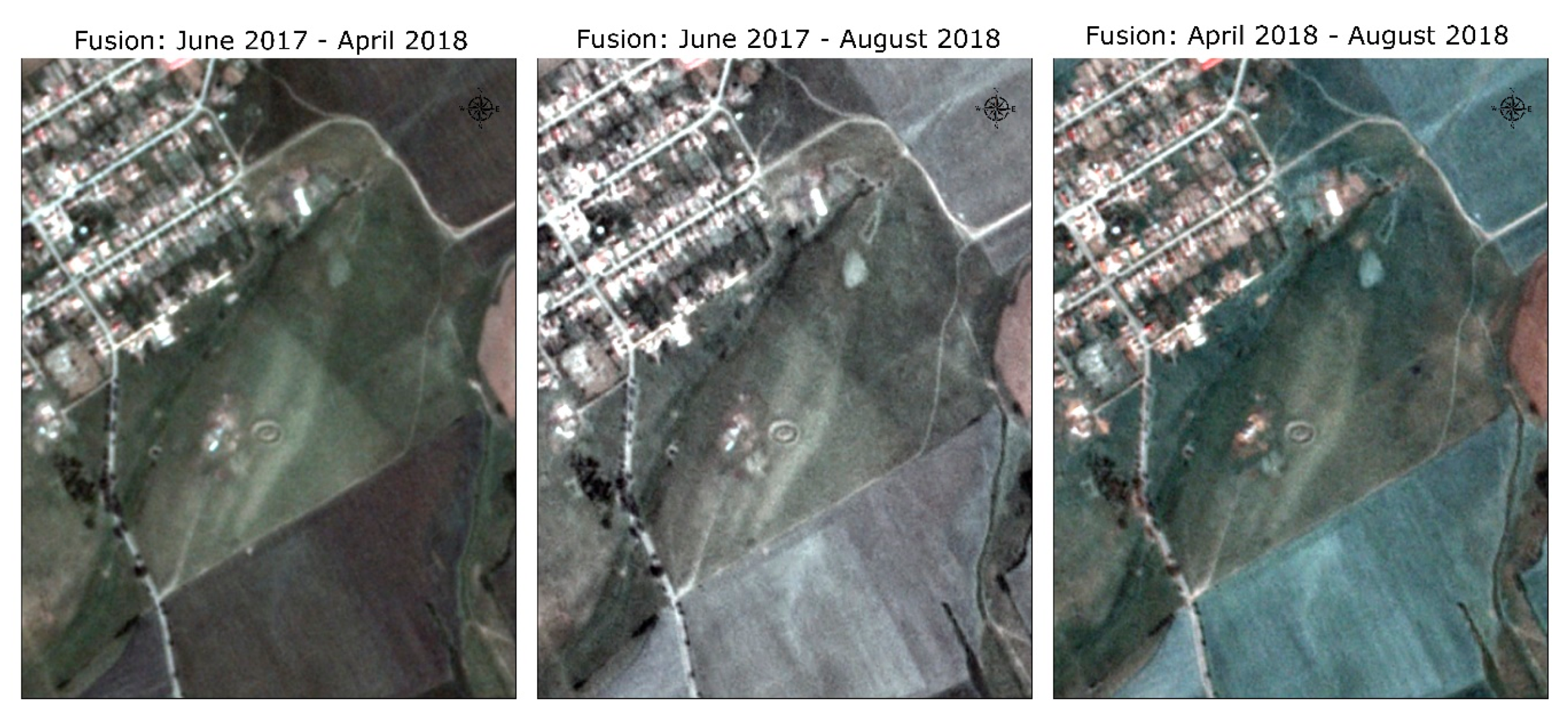 Satellite Imagery Provides a Glimpse into Medieval Times