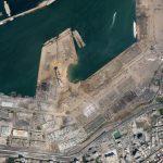 2020年8月5日,黎巴嫩贝鲁特发生硝酸铵爆炸。保留所有权利。