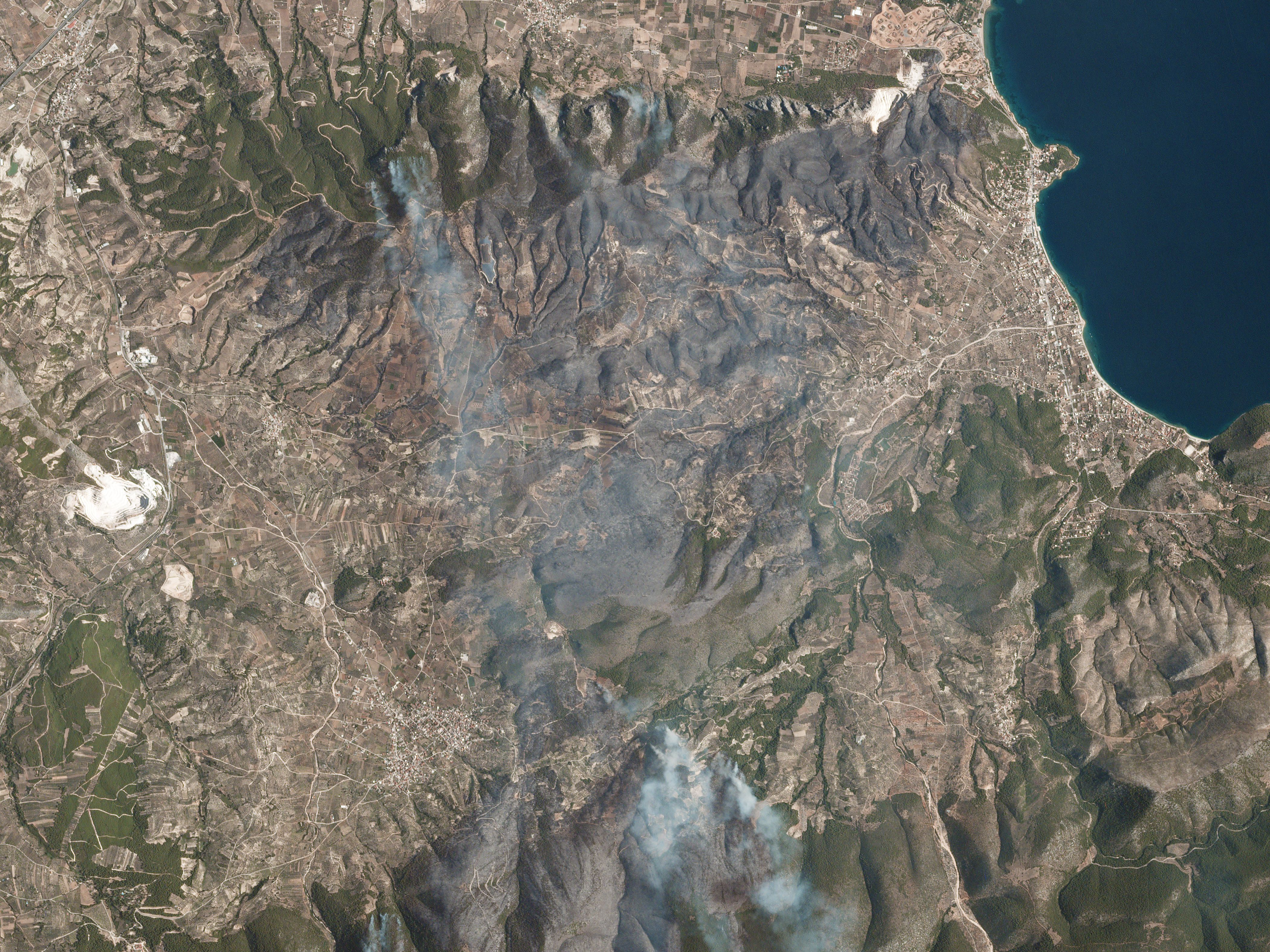 PlanetScope image of Corinthia, Greece on Jul 24, 2020 © 2020, Planet Labs Inc. All Rights Reserved.