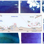 Kikaki et al. 2020 Remote Sensing, used Planet to track the discharge of plastic debris in the Caribbean Sea.